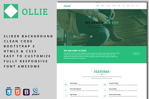 Ollie - Business Template