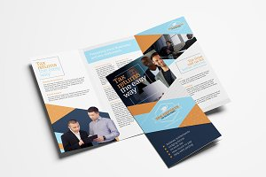 Tax Service Brochure Template