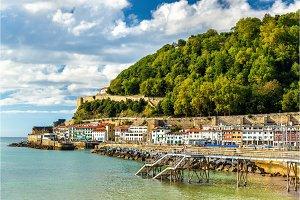 Houses on the seaside of San Sebastian - Spain
