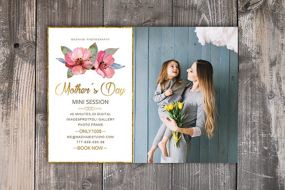 Mother's Day Marketing Board
