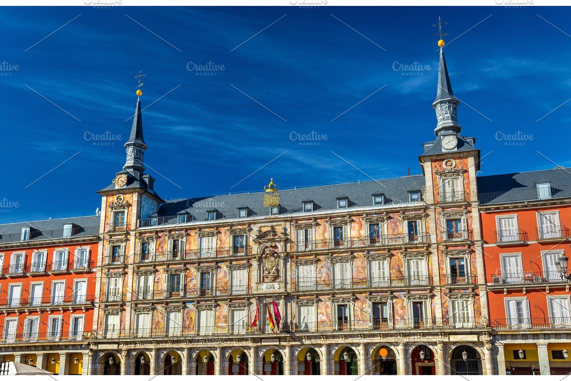 Casa De La Panaderia On Plaza Mayor In Madrid Spain