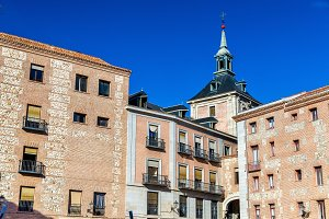 Casa de la Villa of Madrid, Spain. Serves as the city hall