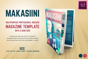 Makasiini - Indesign mag template