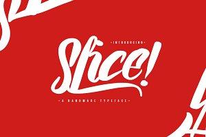 Slice! - Delicious Font