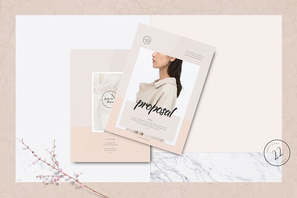 Brochure Templates: ThemeDevisers - Proposal Template