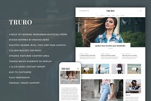 Truro - Bold WP Blogging Theme