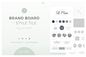 Brand Board / Style Tile 11
