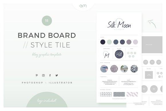 Brand Board Style Tile 11