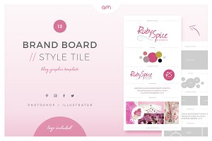 Brand Board / Style Tile 12