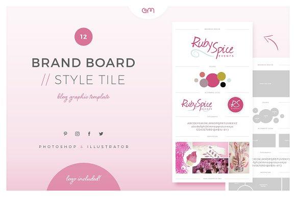 Brand Board Style Tile 12