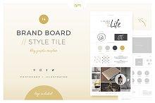 Brand Board / Style Tile 14
