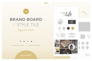 Brand Board / Style Tile 14