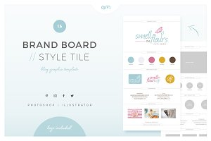 Brand Board / Style Tile 15