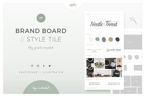 Brand Board / Style Tile 17