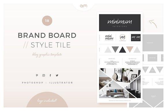 Brand Board Style Tile 18