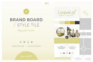 Brand Board / Style Tile 19