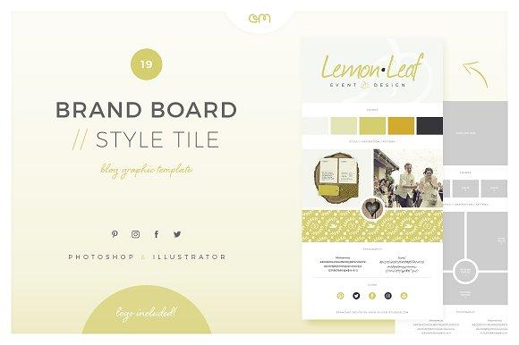 Brand Board Style Tile 19