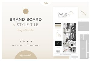 Brand Board / Style Tile 20