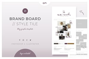 Brand Board / Style Tile 21