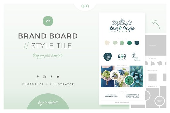 Brand Board Style Tile 23