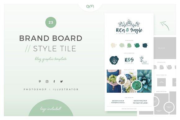 Brand Board Style Tile 23