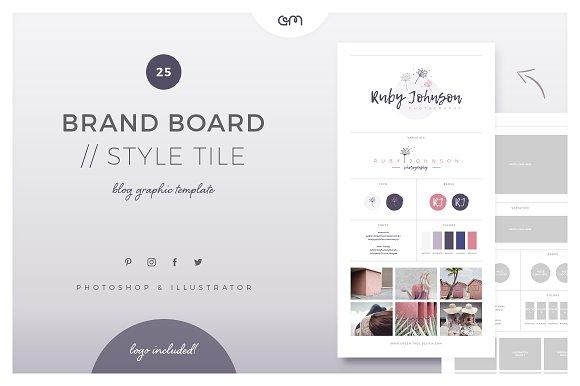 Brand Board Style Tile 25