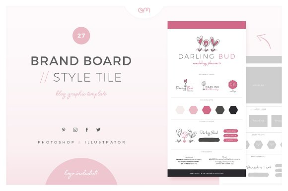 Brand Board Style Tile 27