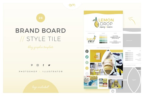 Brand Board Style Tile 28
