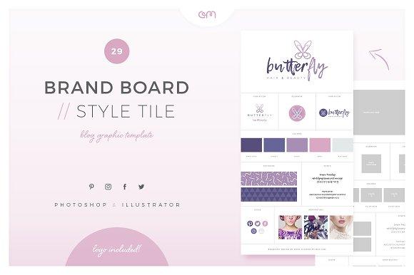 Brand Board Style Tile 29