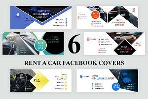 6 Rent a Car Facebook Covers