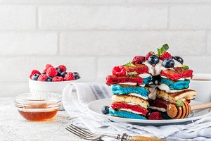 Independence Day breakfast idea