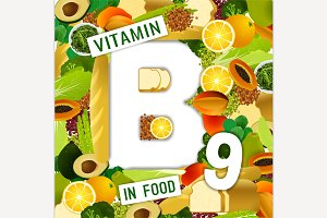 Vitamin B9 Background