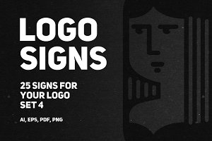 Set 4 | 25 signs for your logo