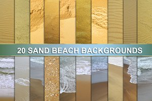 SAND BEACH BACKGROUNDS