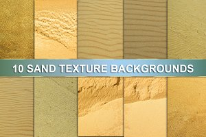 10 SAND TEXTURE BACKGROUNDS