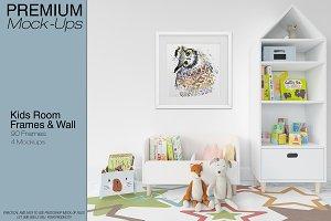 Kids Room - Frames Wall & Carpet