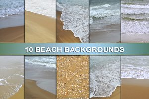 OCEAN BEACH BACKGROUNDS