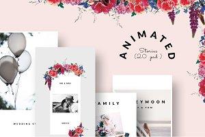 ANIMATED Instagram Stories - Wedding