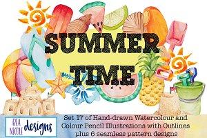 Summer Time Clip Art