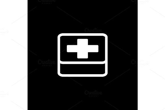 First Aid Symbol Flat Design
