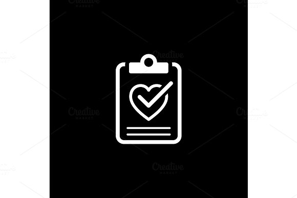 Health Tests And Medical Services Icon Flat Design