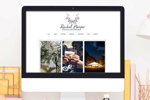 Wix Website Template, photography