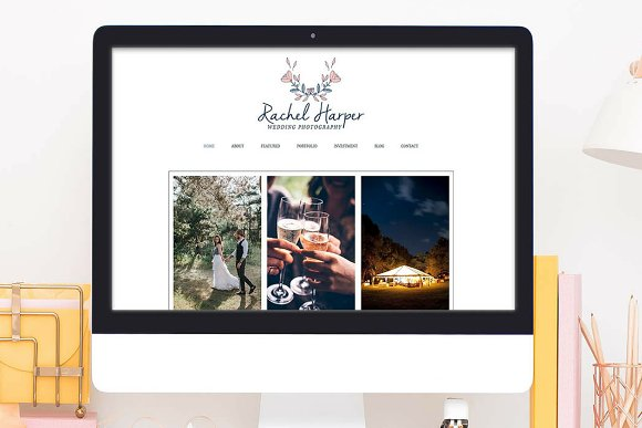 Wix Website Template Photography