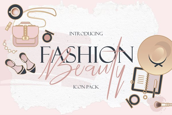 Icons: Polar Vectors - Beauty & Fashion Icon Pack