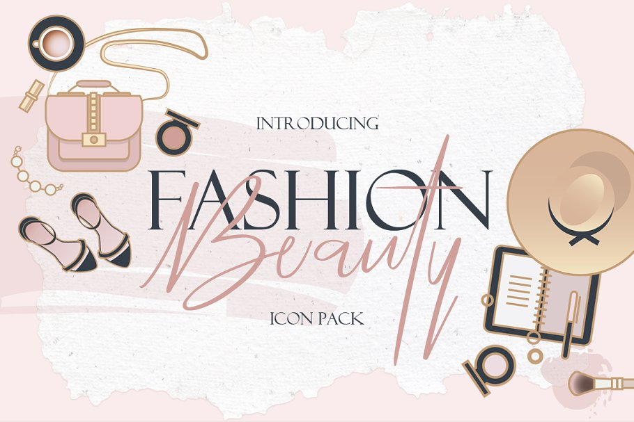 Beauty & Fashion Icon Pack in Graphics - product preview 21
