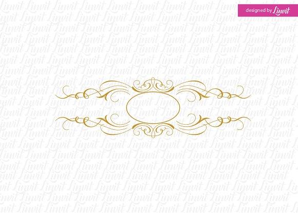 Calligraphy Wedding Logo