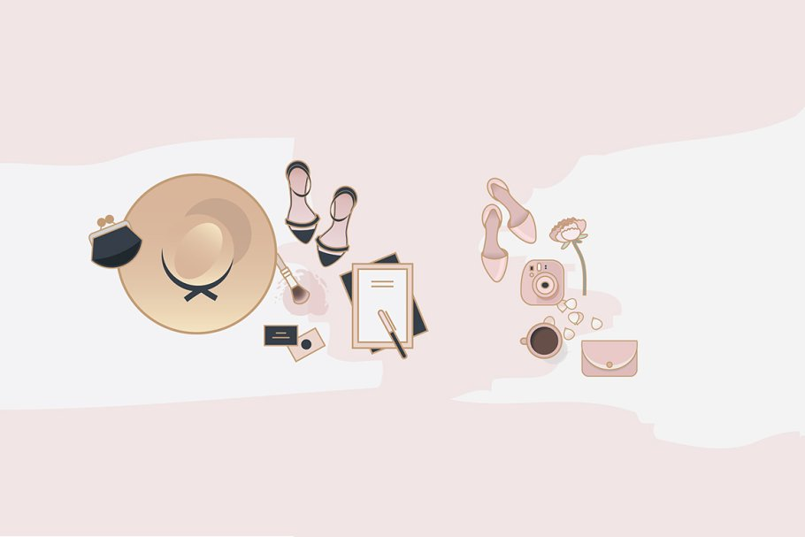 Beauty & Fashion Icon Pack in Graphics - product preview 9