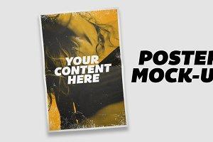 Paper & Poster Mock Up