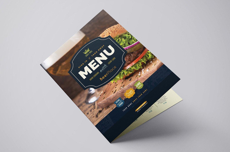 Pub Menu Template ~ Brochure Templates ~ Creative Market