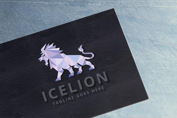 Ice Lion Logo